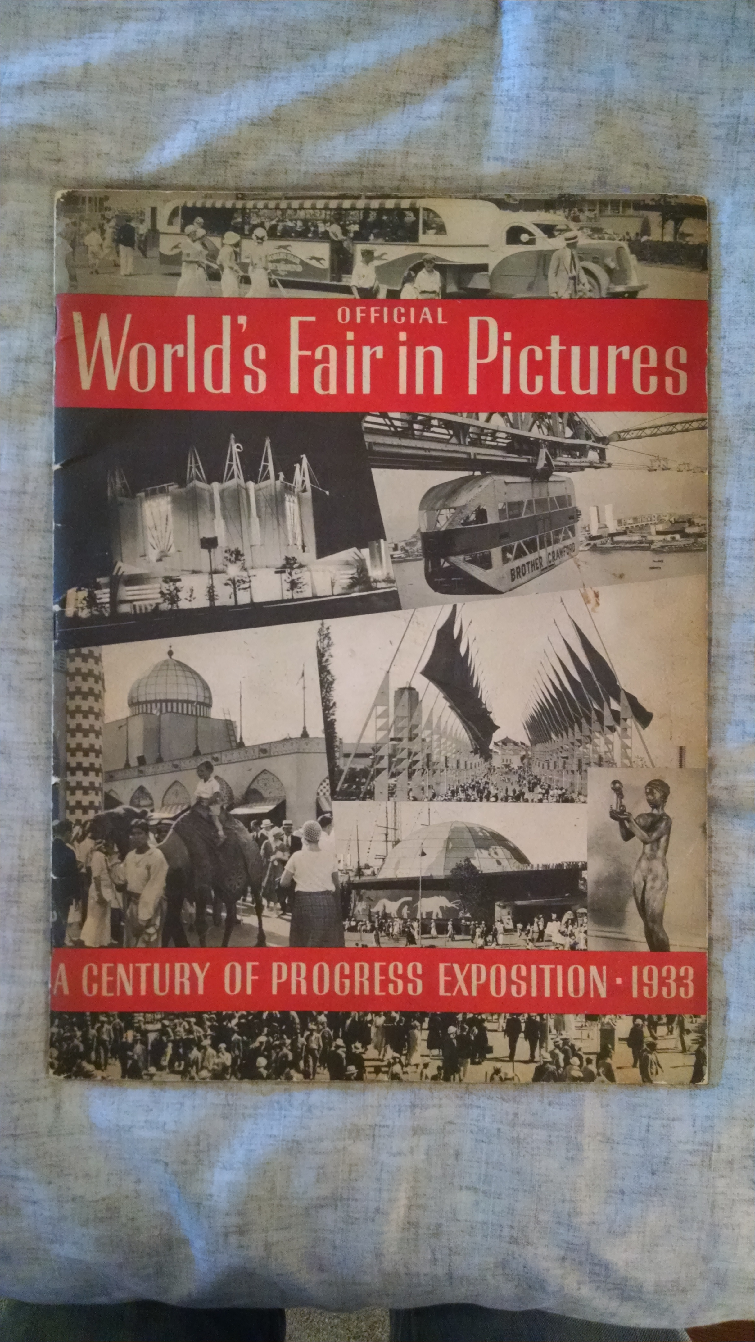 Image for OFFICIAL WORLD'S FAIR IN PICTURES   A CENTURY OF PROGRESS EXPOSITION 1933