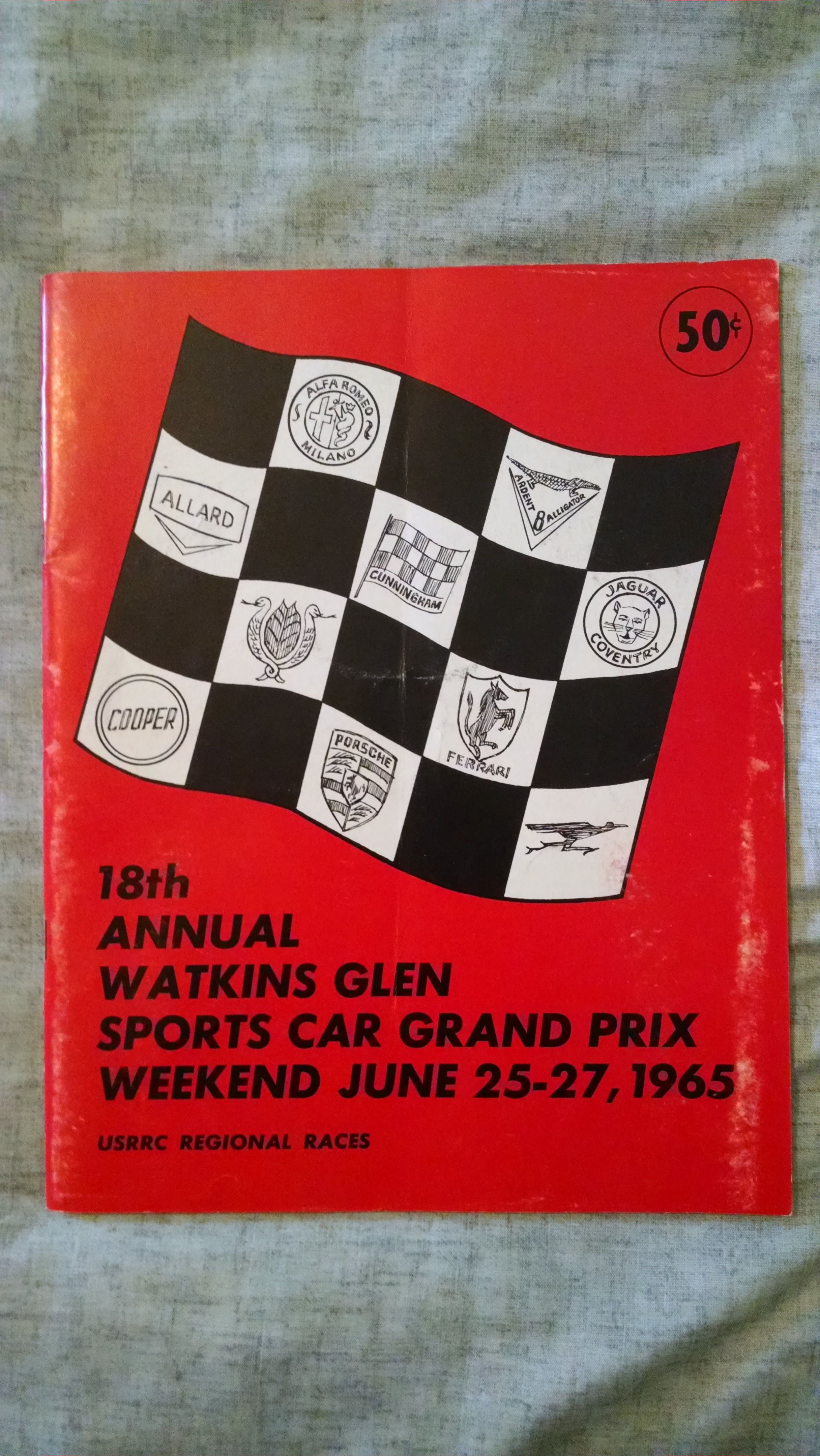 Image for 18 TH ANNUAL WATKINS GLEN SPORTS CAR GEAND PRIX WEEKEND JUNE 25-27 1965