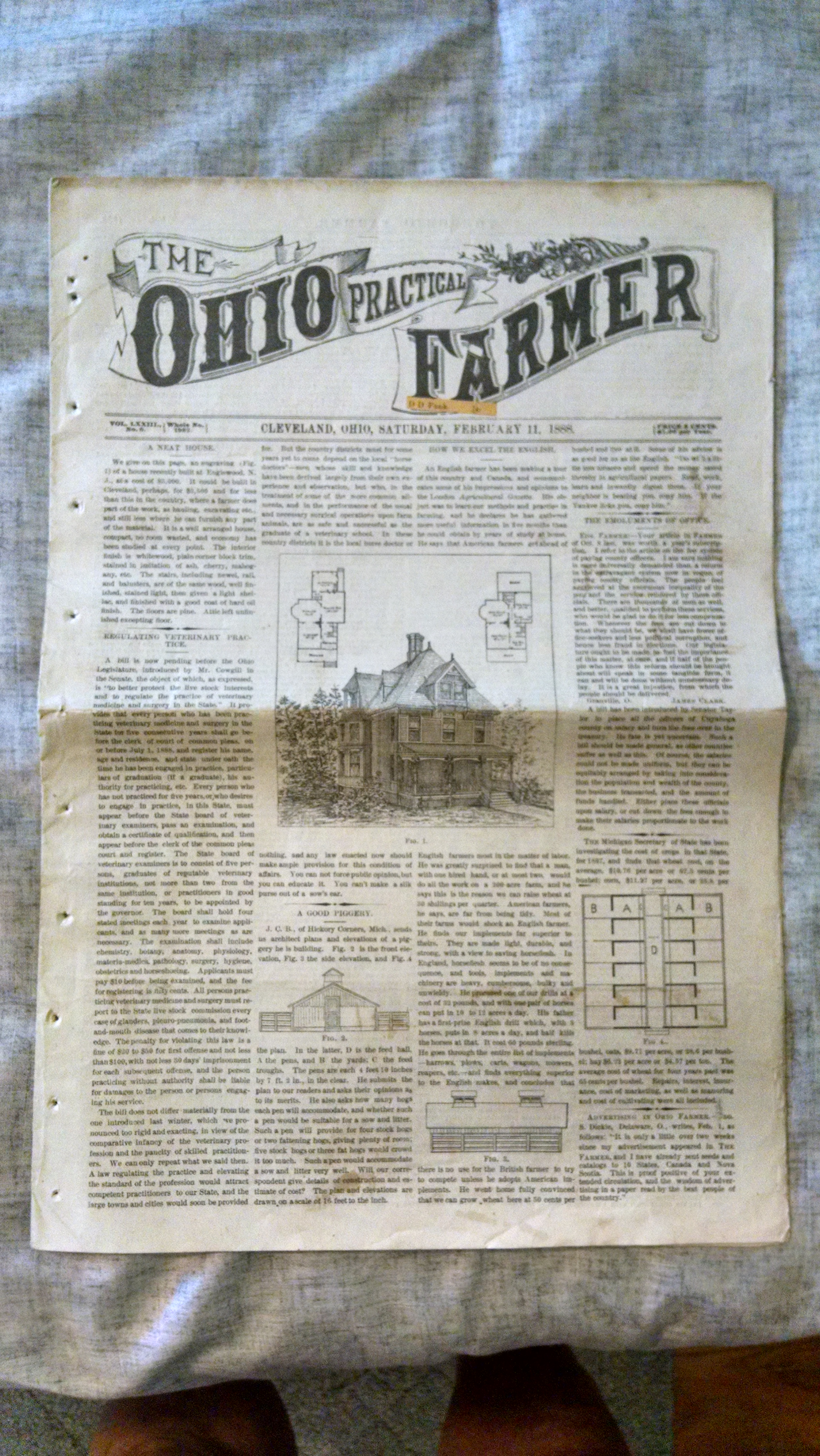 Image for THE OHIO PRACTICAL FARMER   VOL LXXIII NO. 6