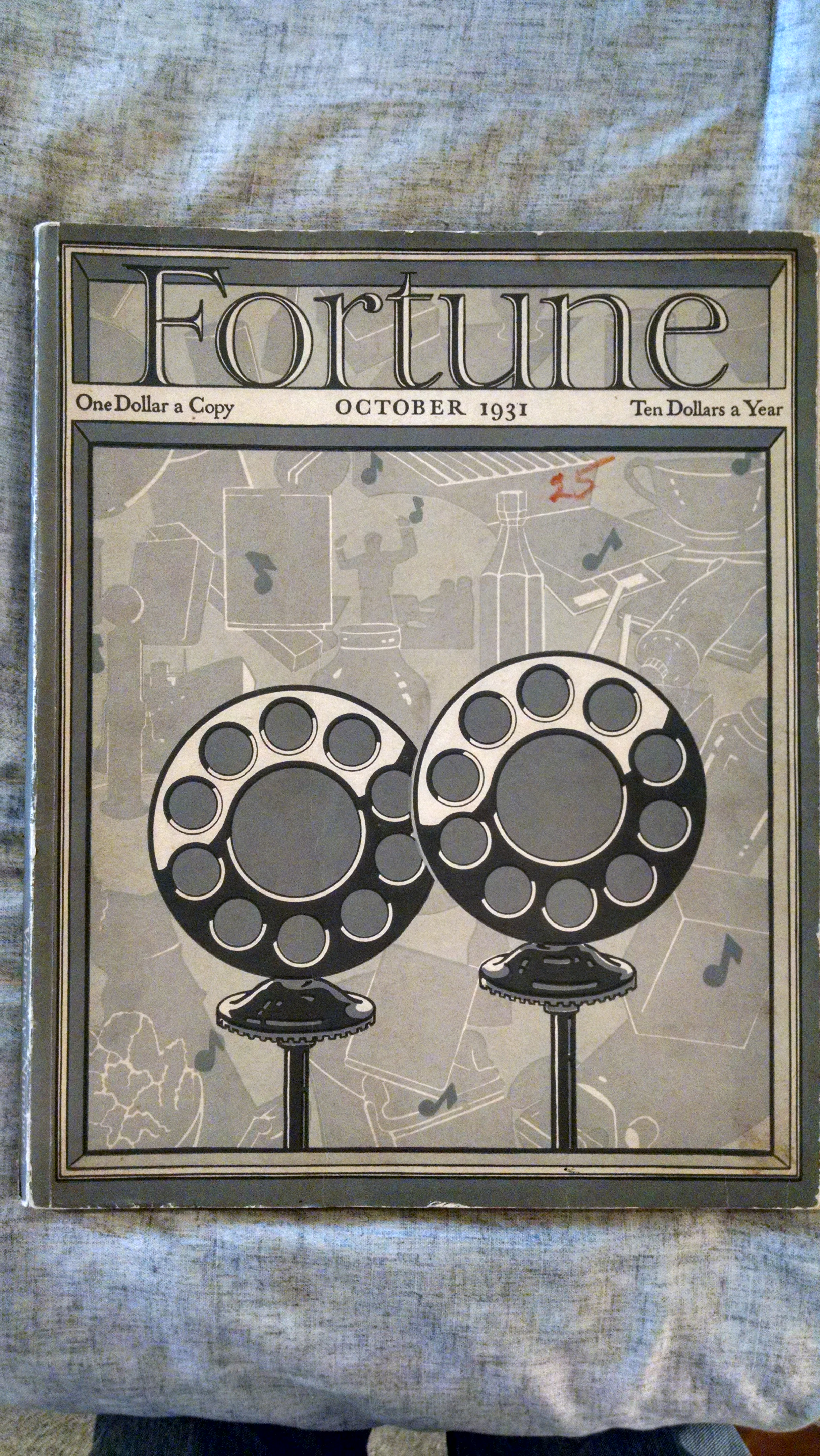 Image for FORTUNE MAGAZINE OCTOBER 1931