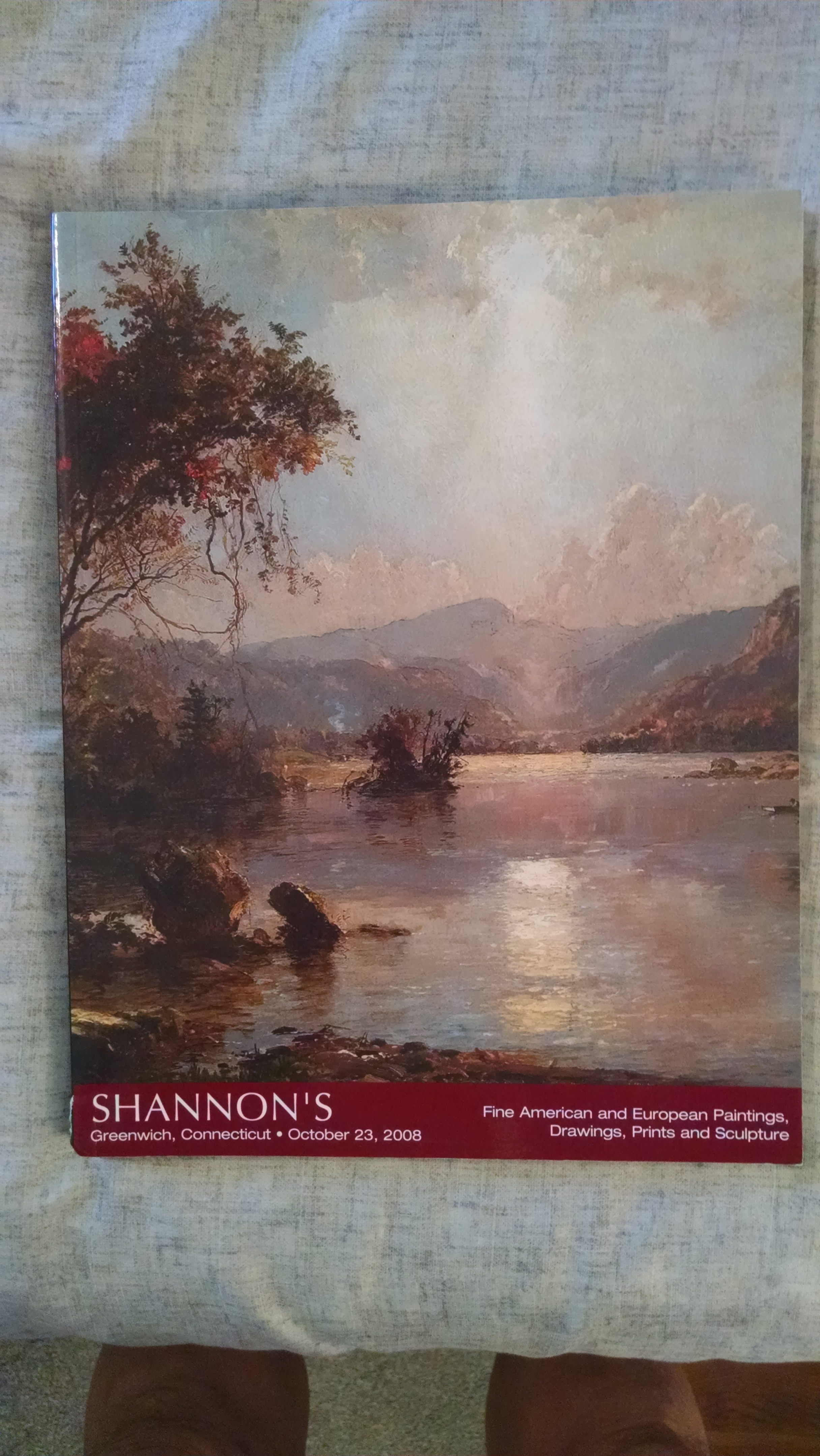 Image for SHANNON'S AUCTION CATALOG   OCT. 23  2008