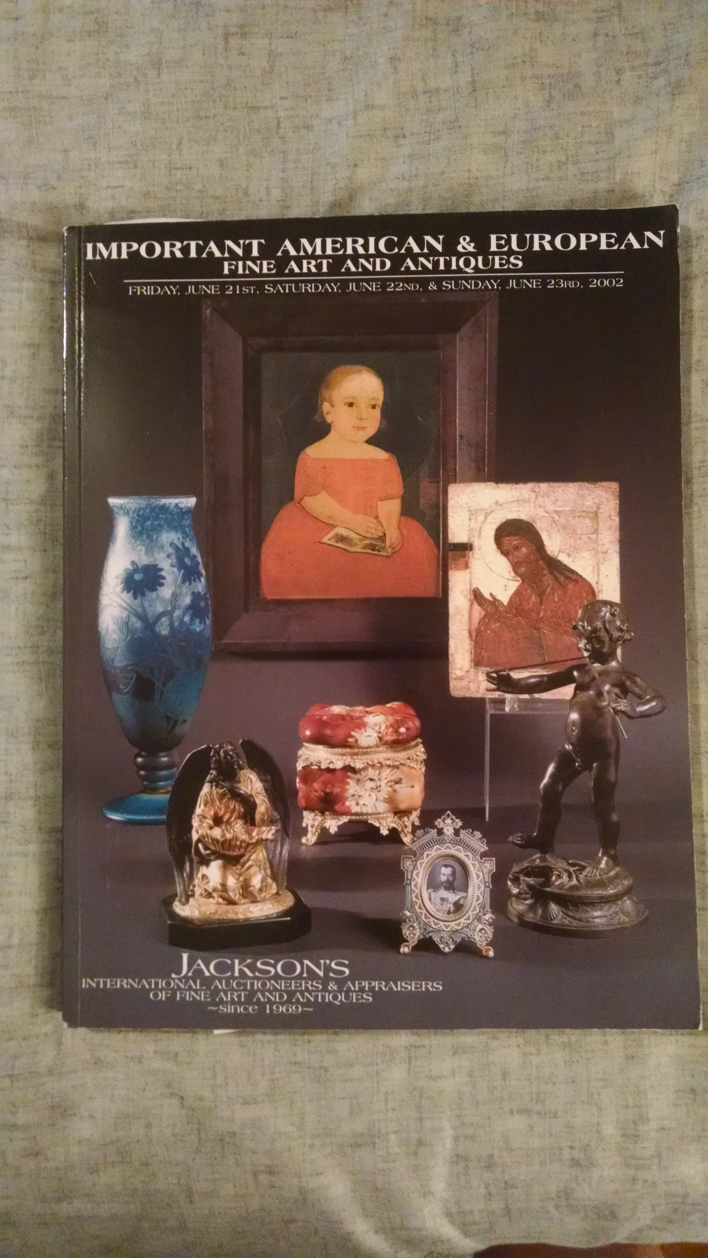 Image for JACKSON'S AUCTION CATALOG JUNE21-23 2002
