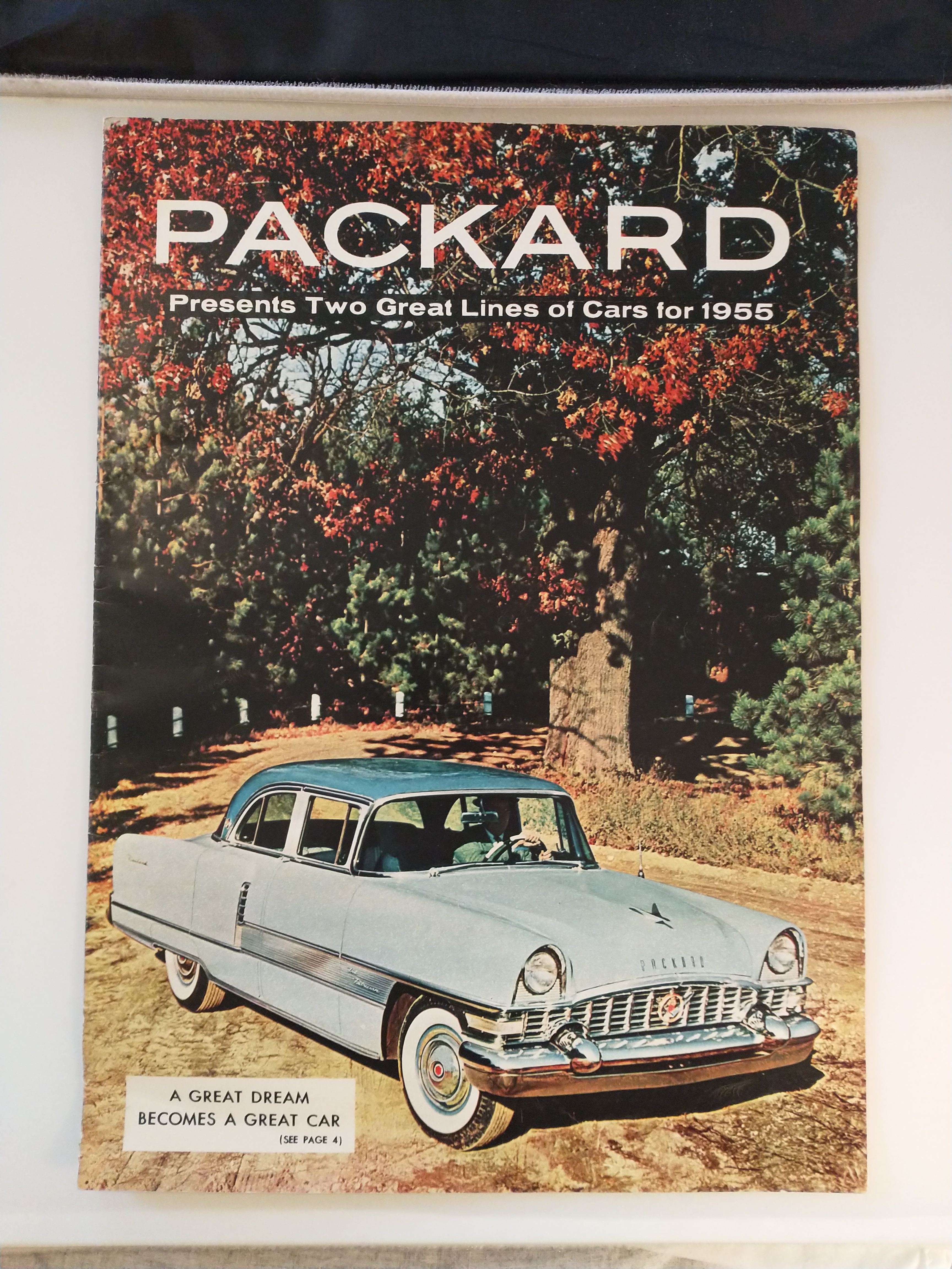 Image for PACKARD   PRESENTS TWO GREAT LINES OF CARS FOR 1955