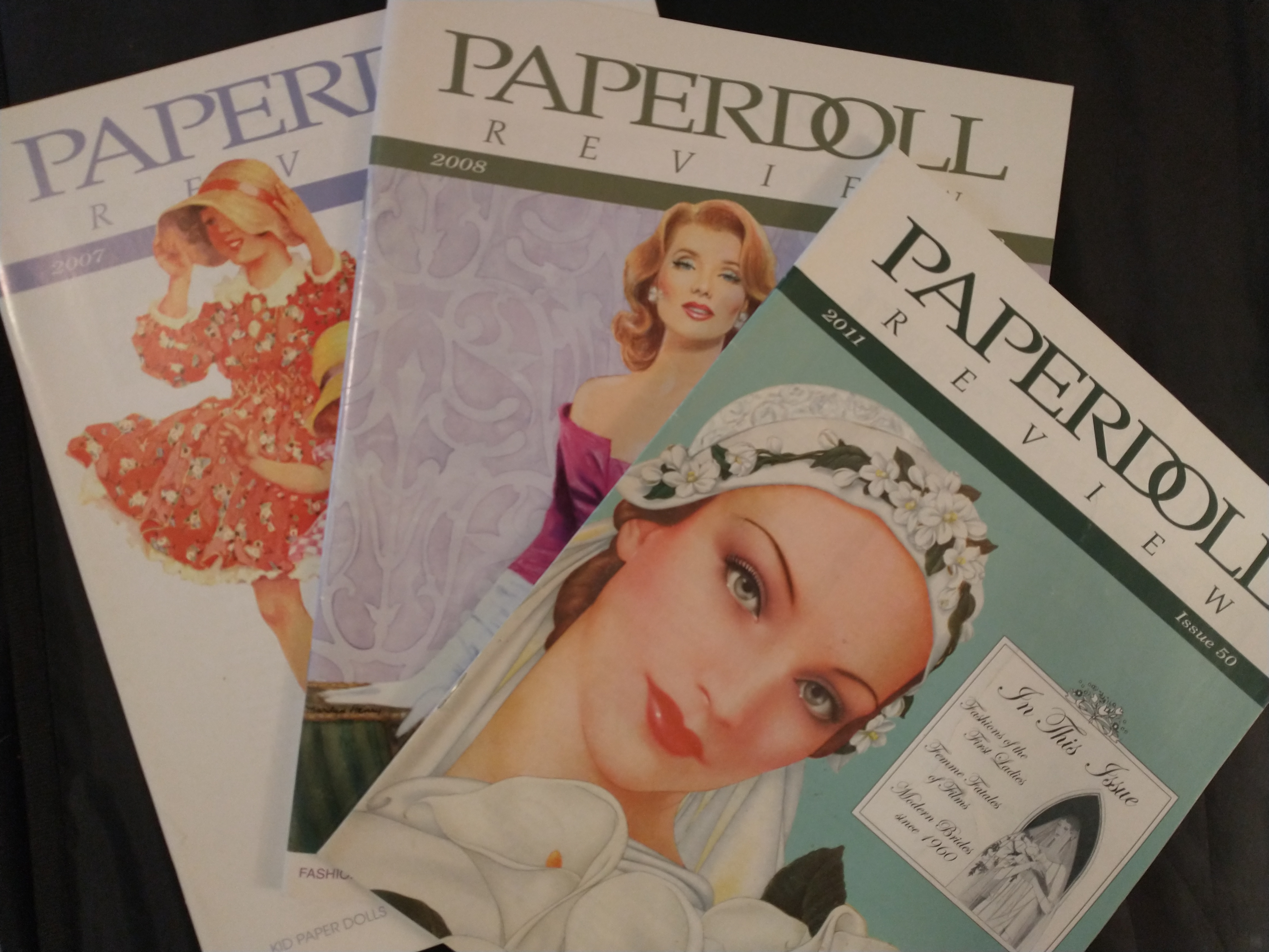 Image for PAPERDOLL REVIEW    ISSUE 41 2007 , ISSUE 47 2008,  ISSUE 50 2011