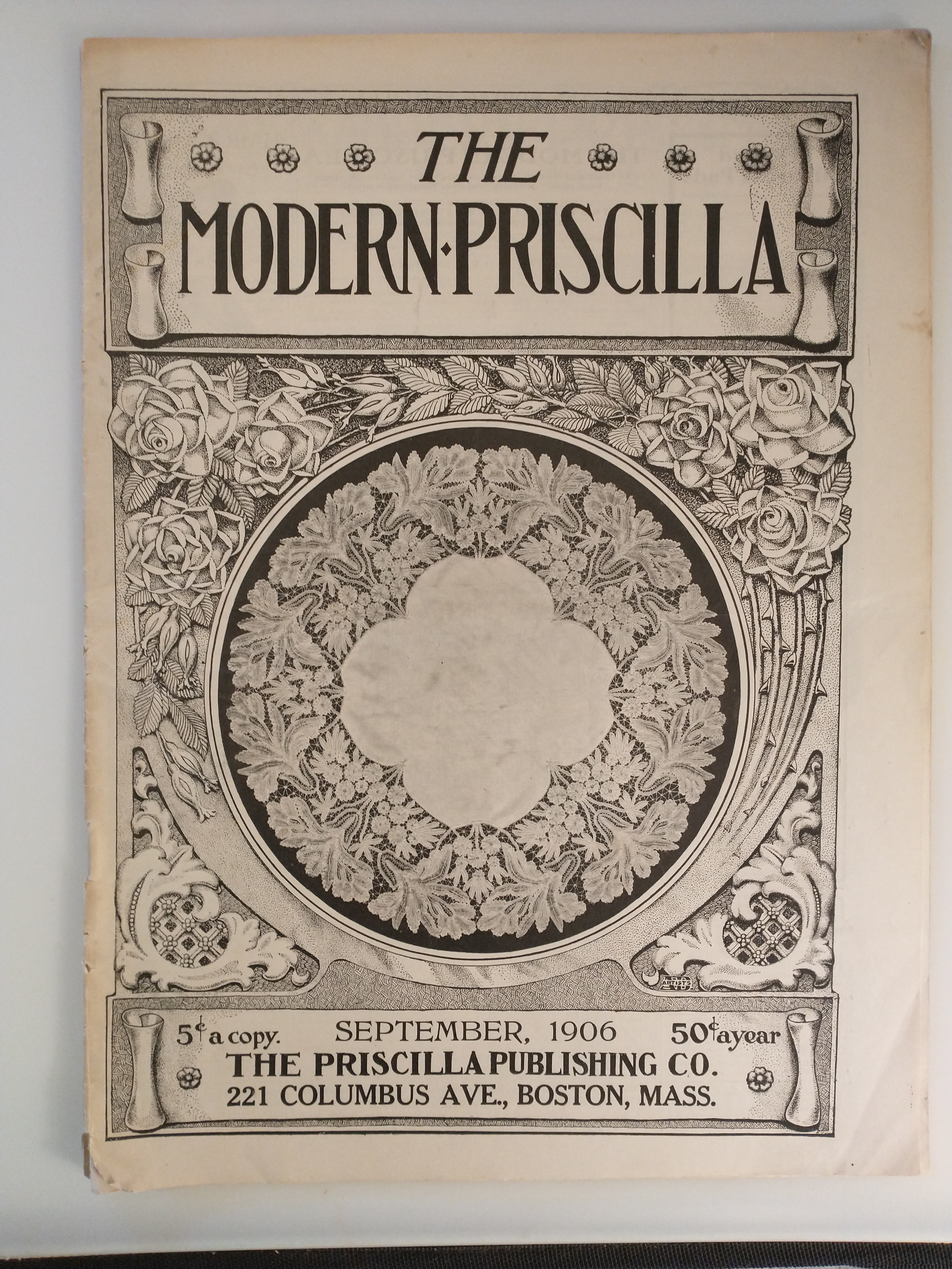 Image for THE MODERN PRISCILLA  MAGAZINE SEPT 1906